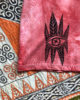 Seeker Red Earth  - Boxy Fit Hand Dyed & Printed - Vegan & Ethical T-Shirt
