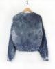 Psychedelic Moon - Hand Dyed & Printed - Ethical & Vegan Sweatshirt